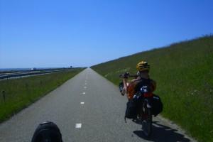 Auf dem Afsluitdijk
