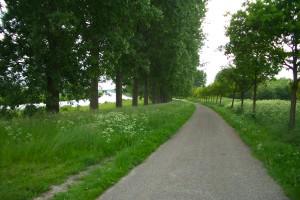 Radweg bei Scheemda