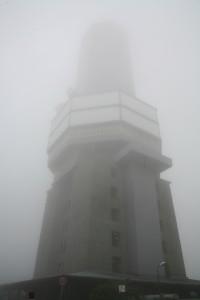Sendeturm auf dem Berg