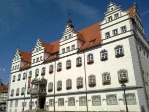 Am Markt in Lutherstadt Wittenberg
