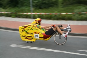 Andreas Seilinger mit Traumvelo