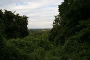 Blick vom Teufelsberg über den Drachenberg