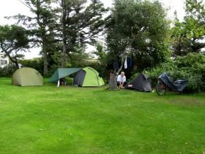 Unser Lager auf dem Campingplatz