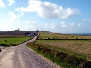 Der Nordseeküstenradweg führt in weiten Teilen über Schotterwege