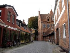 Altstadt von Ribe:Idyllische Gassen