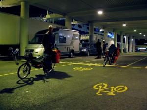 Warten auf die Fähre nach Frederikshavn