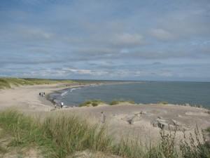 An dieser Landspitze treffen sich Nord- und Ostsee