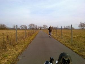 Havelradweg - abseits der Straße