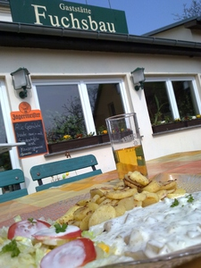 Pause in Hohenwutzen