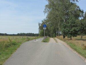 Radwege anschaulich dargestellt: Links Brandenburg, rechts Mecklenburg-Vorpommern