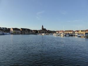 Am Ziel: Stadthafen Waren an der Müritz