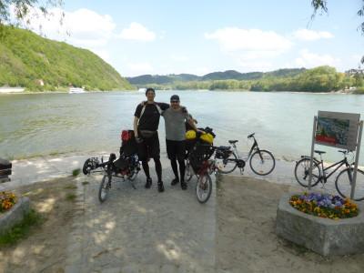 Dreiflüsseeck in Passau
