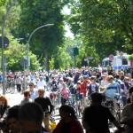 Alles voller Radfahrer