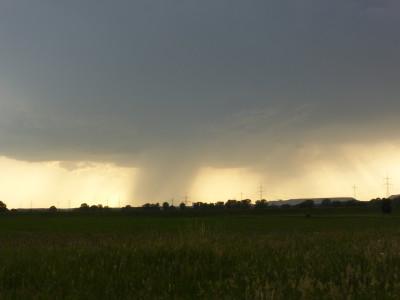 Regen und Unwetter zogen vorbei