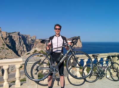 Happy am Cap de Formentor