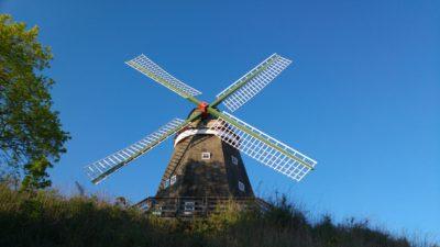 Windmühle in Röbel/Müritz