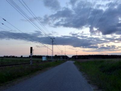 Abend zwischen Cottbus und Spremberg