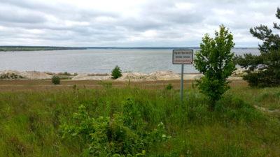 Baggersee - Lebensgefahr