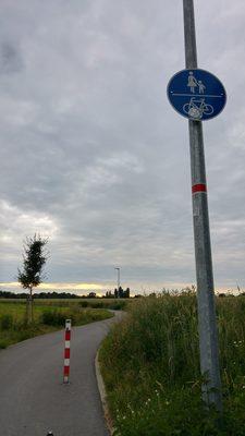 Über die Felder bei Falkensee