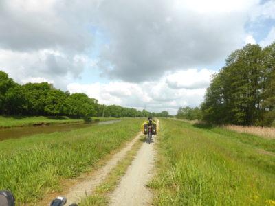 Romantischer Radweg(tm) an der Schwarzen Elster