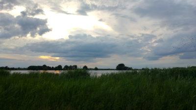 Die Havel am Abend