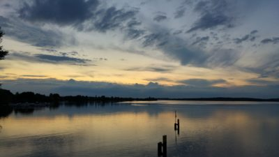 Sonnuntergang über der Havel