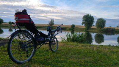 Speedmachine am Teich