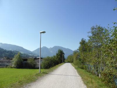 Radweg an der Salzach
