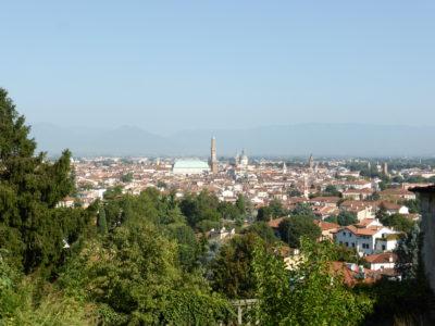 Vicenza von oben