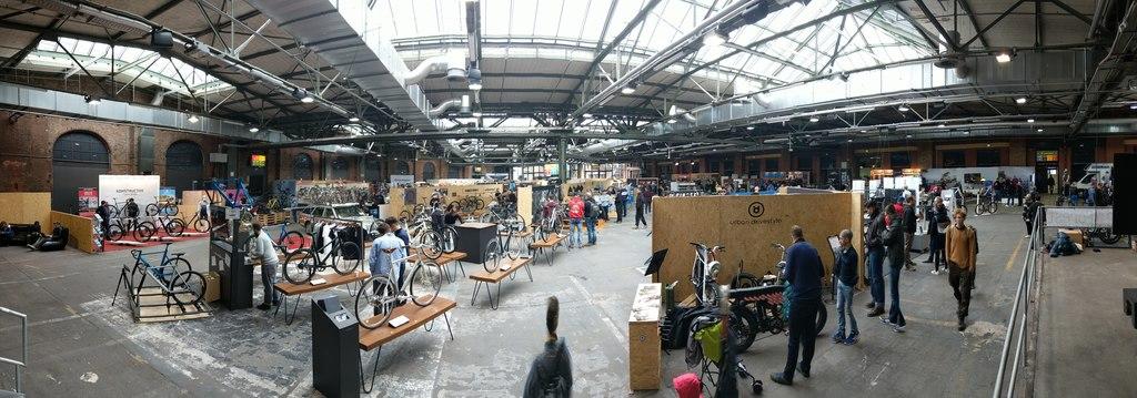 Fahrradschau 2018 - Halle