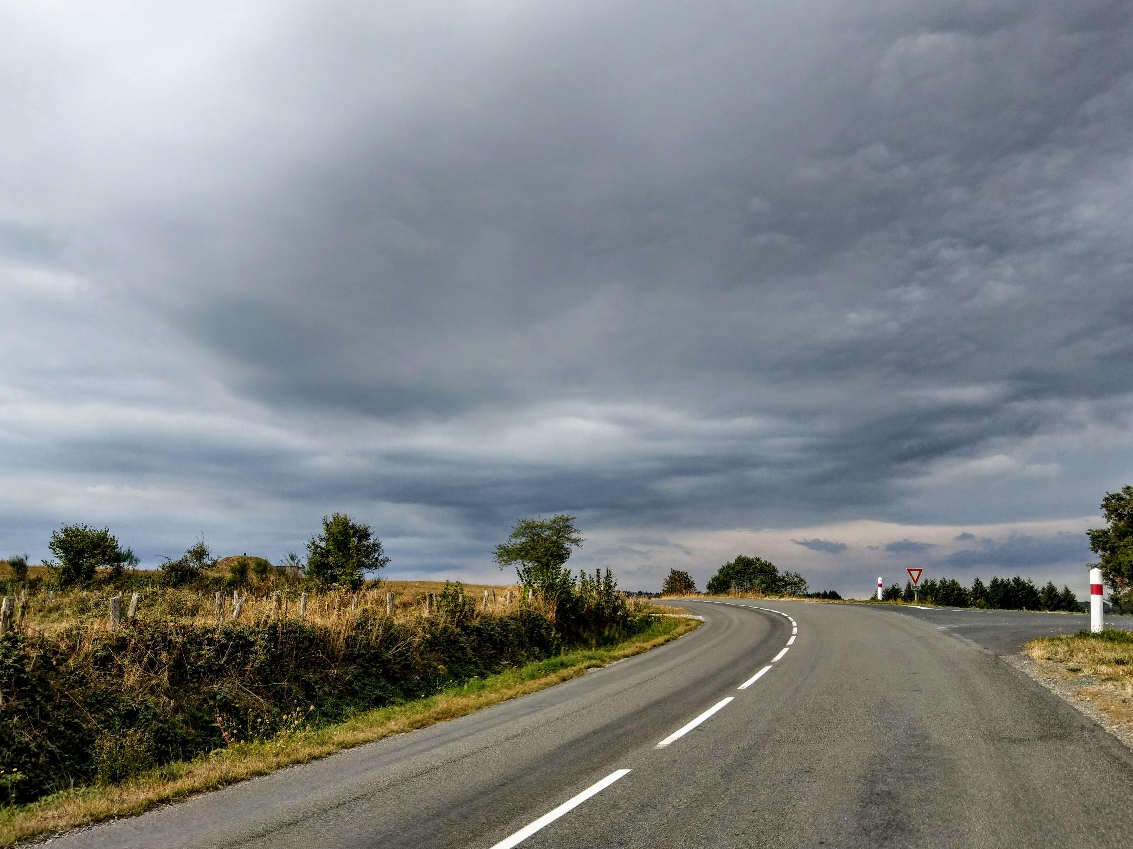 Landschaft und Wetter