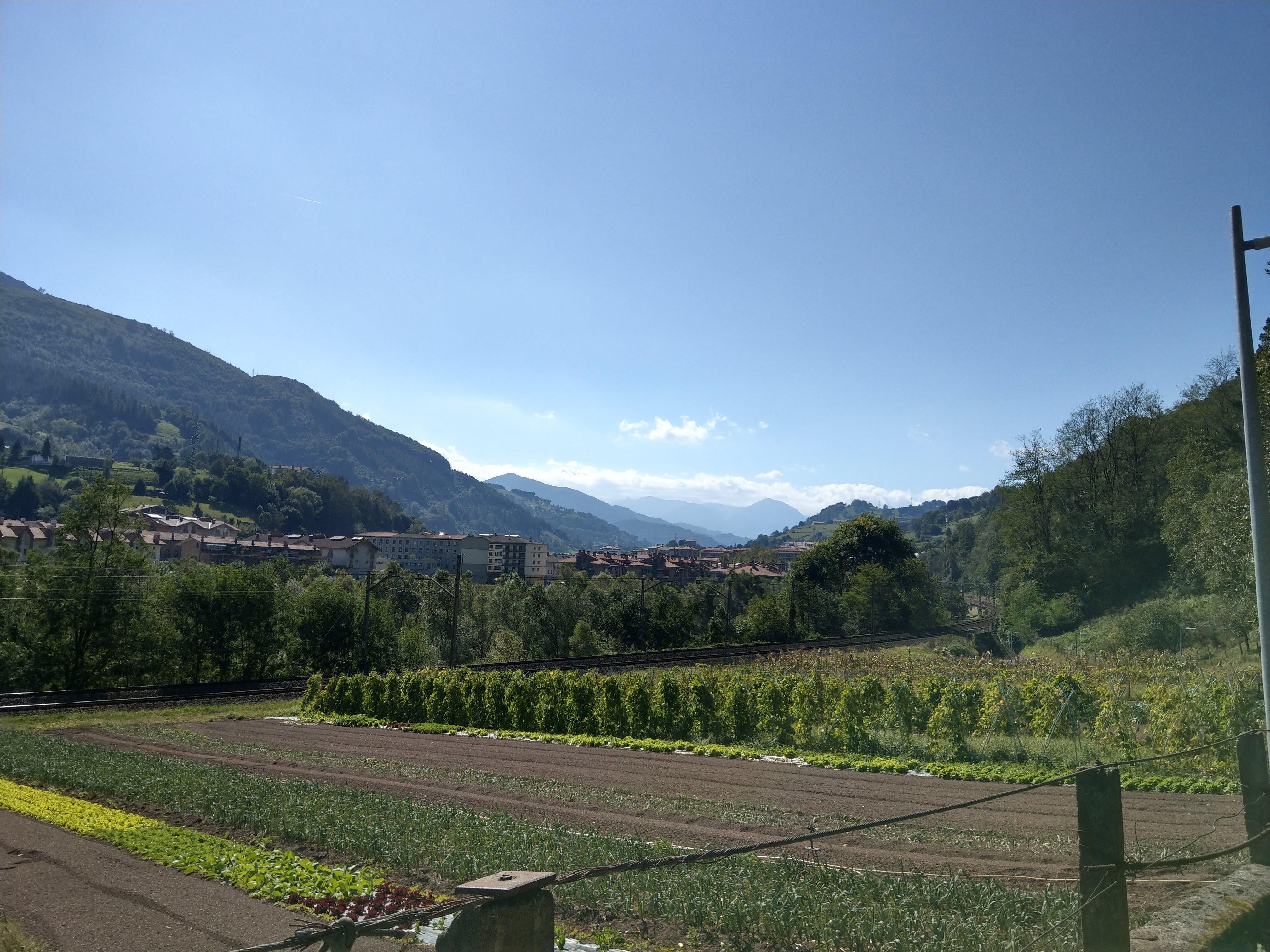 Baskische Berglandschaft