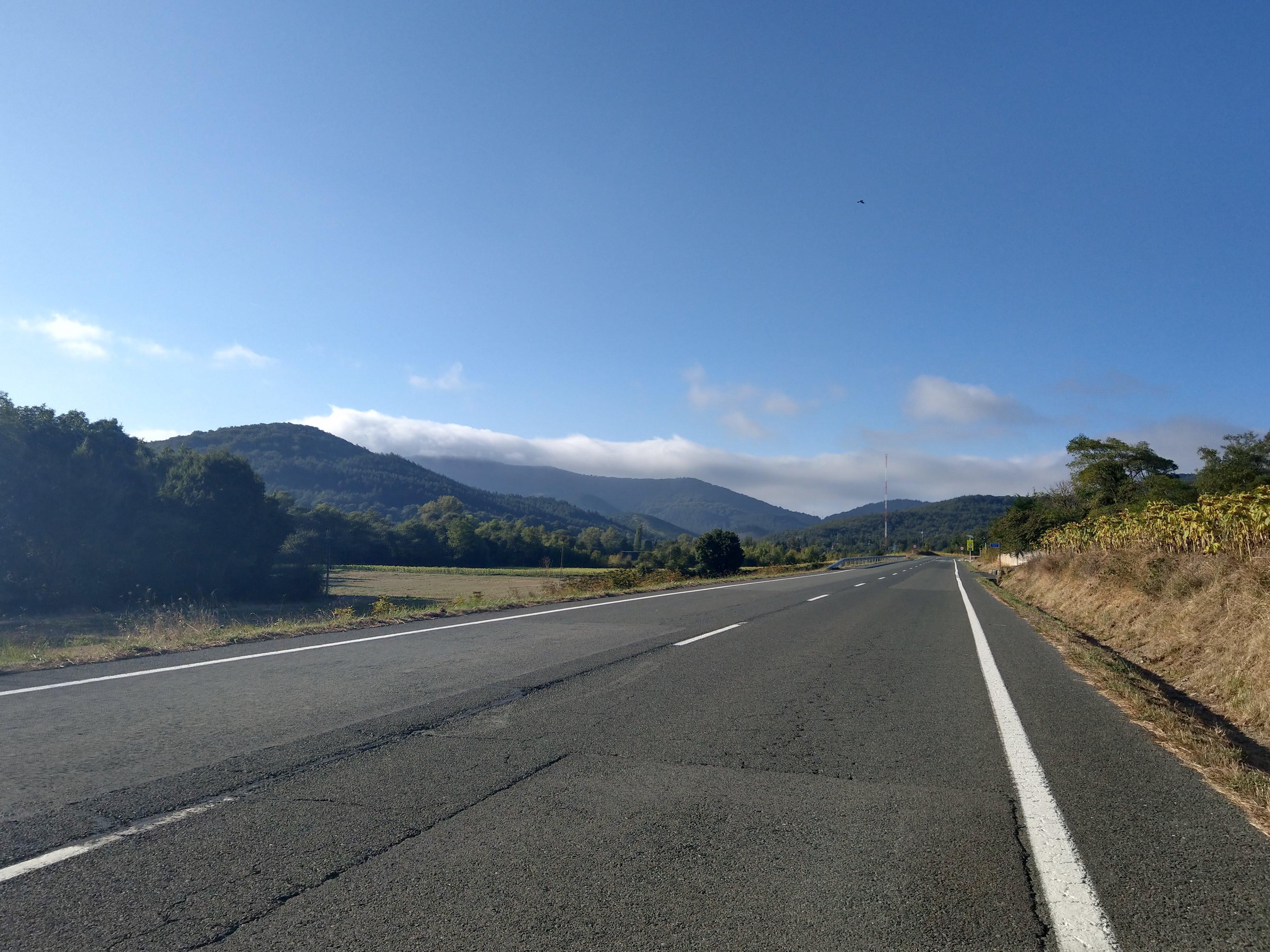 Auffahrt zum Zaldiaran
