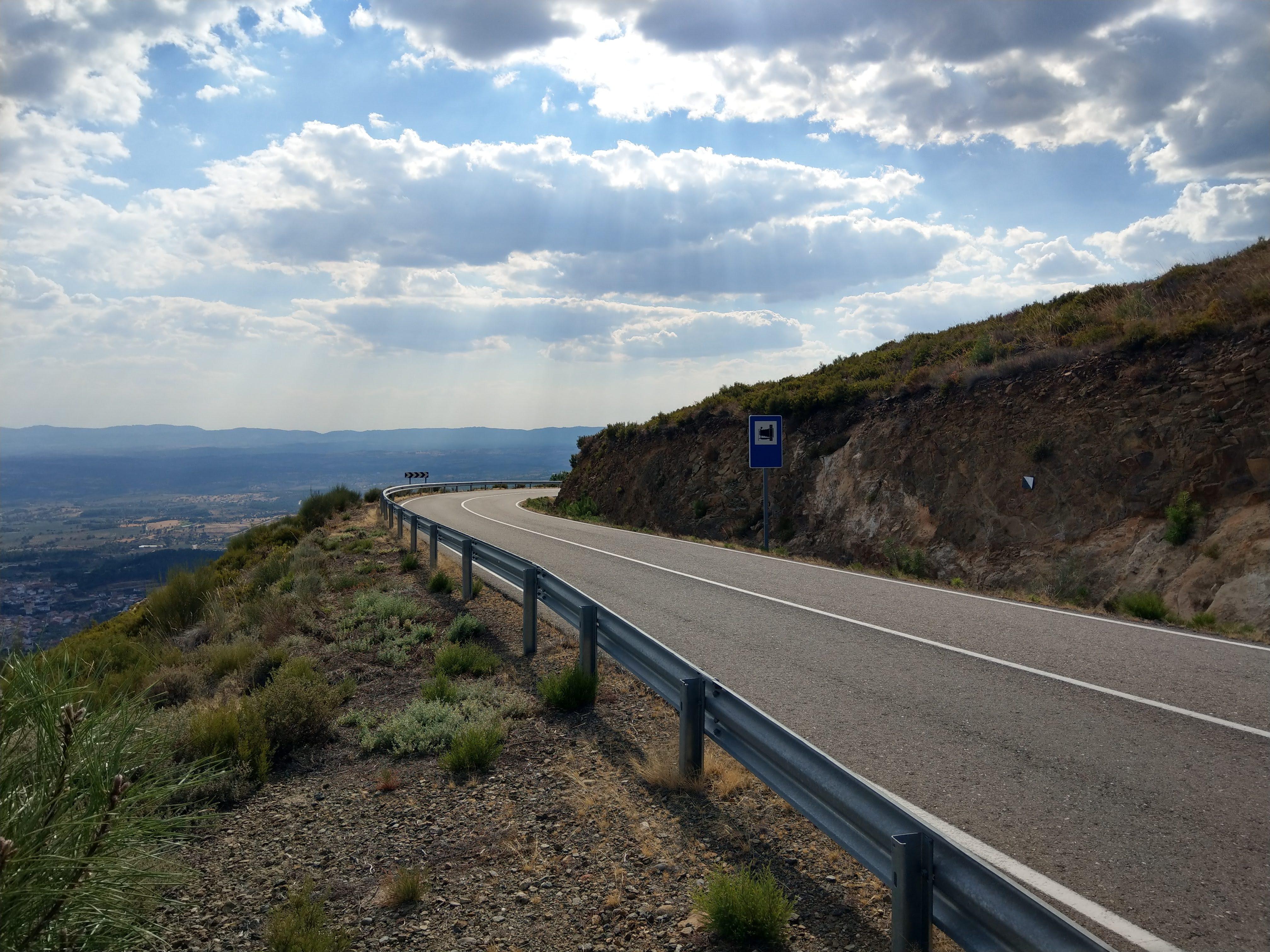 Abfahrt nach Valverde del Fresno