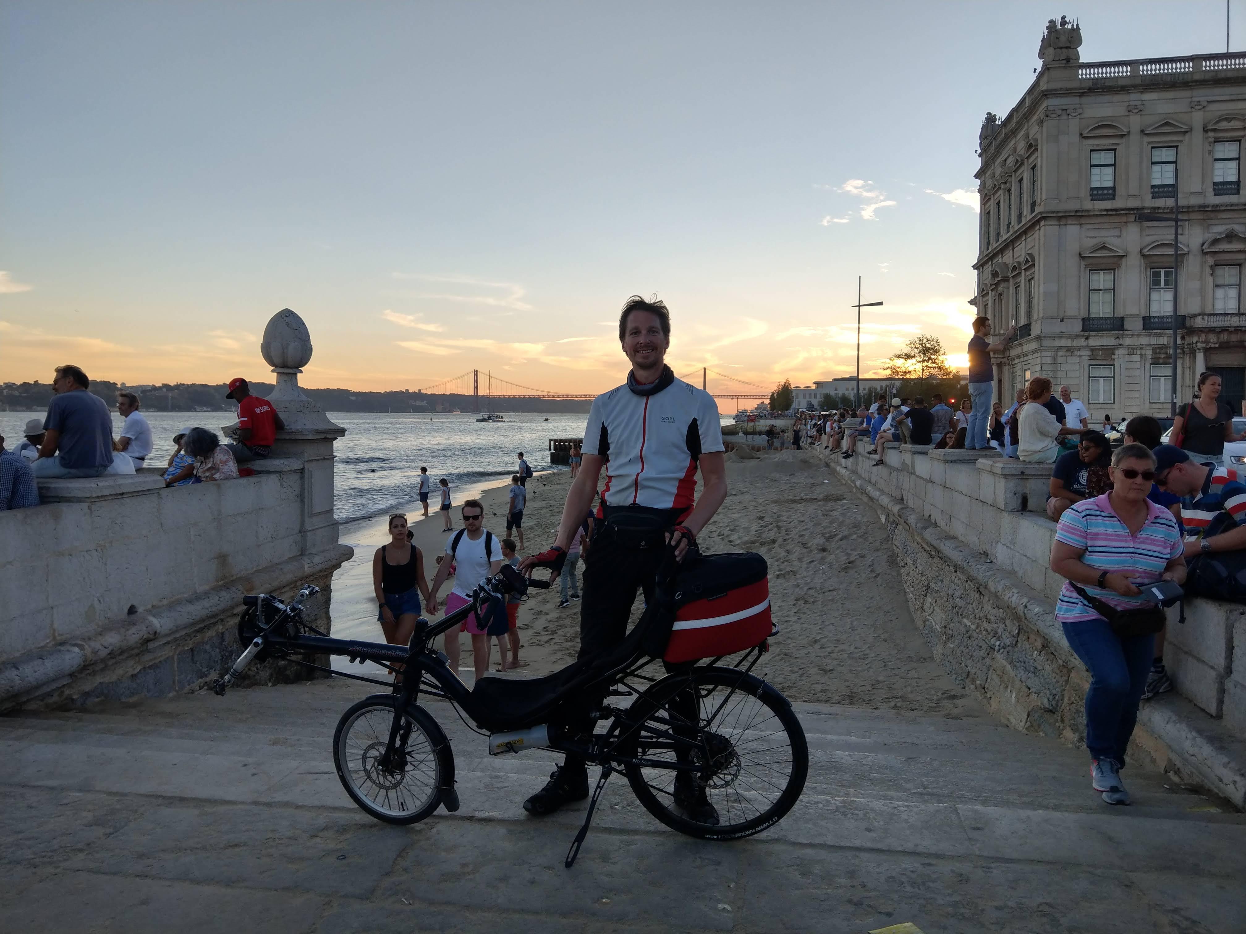 Angekommen in Lissabon