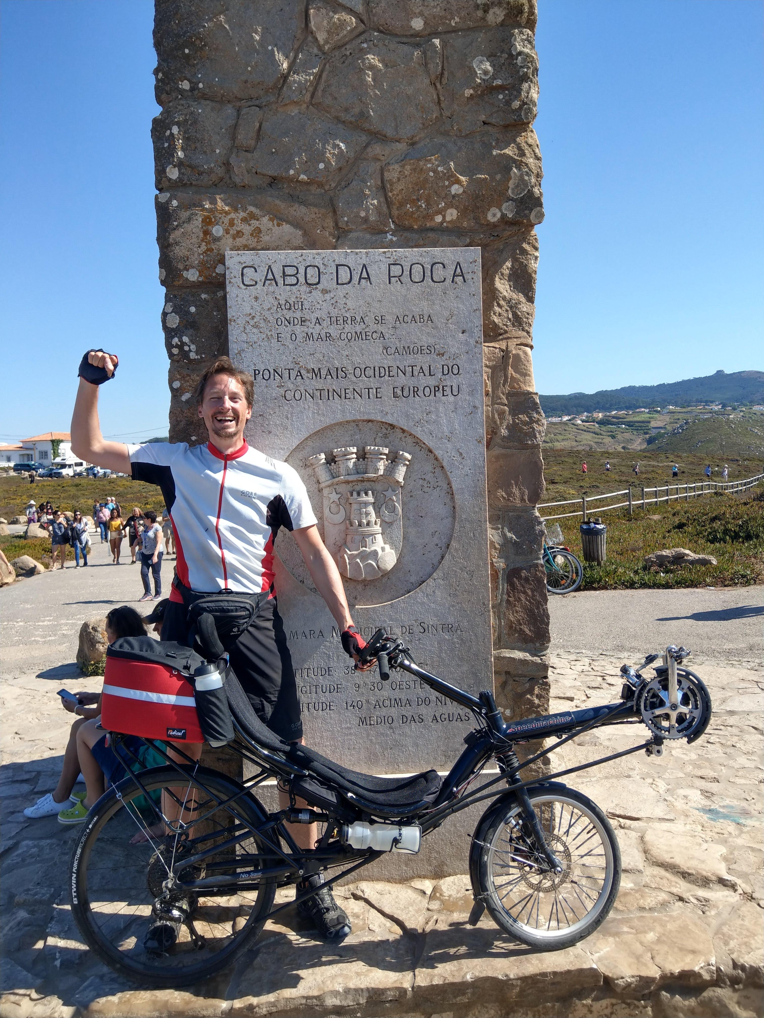 Cabo da Roca - westlichster Punkt des europäischen Festlands