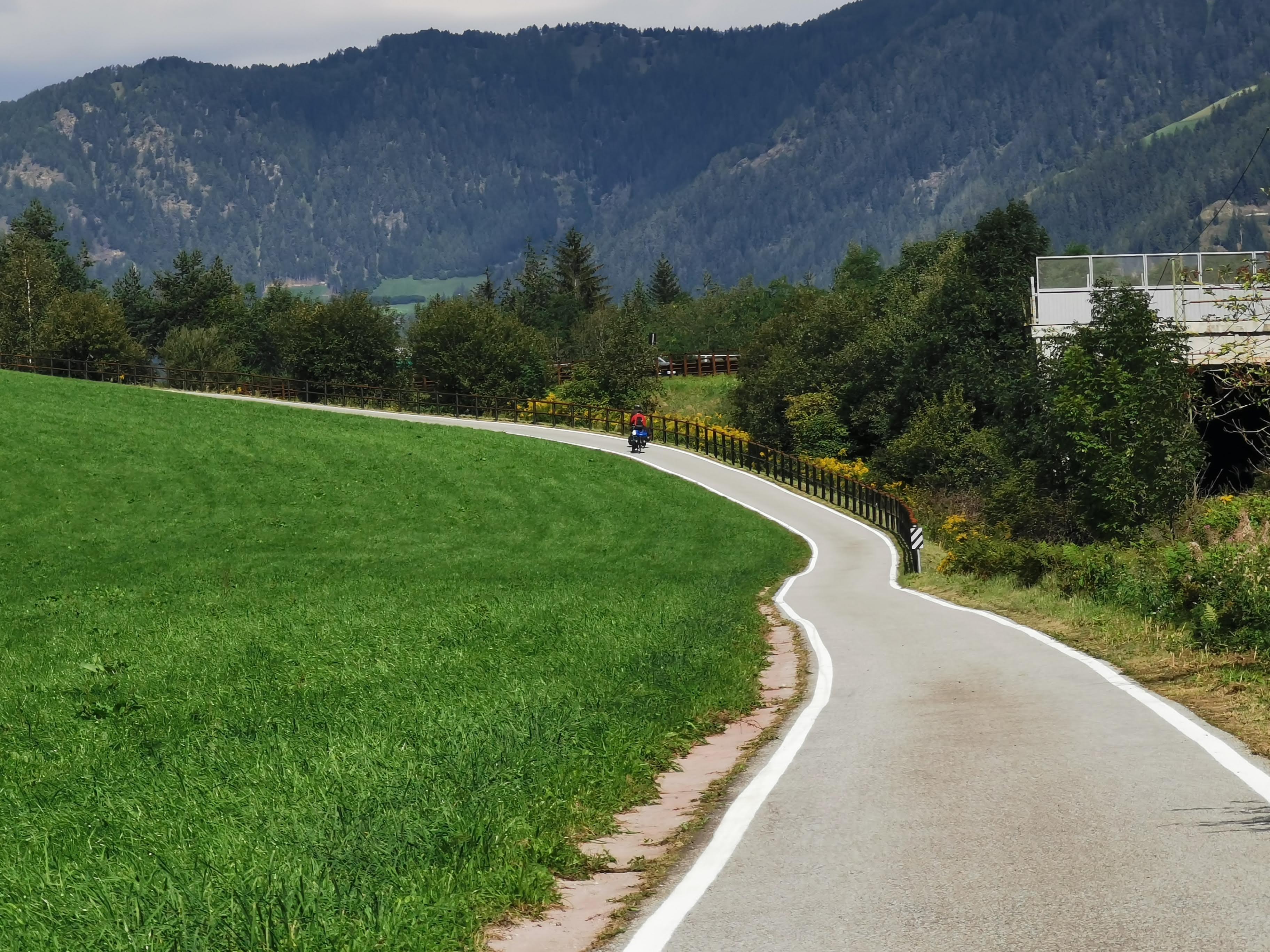 Brennerradweg, italienische Seite
