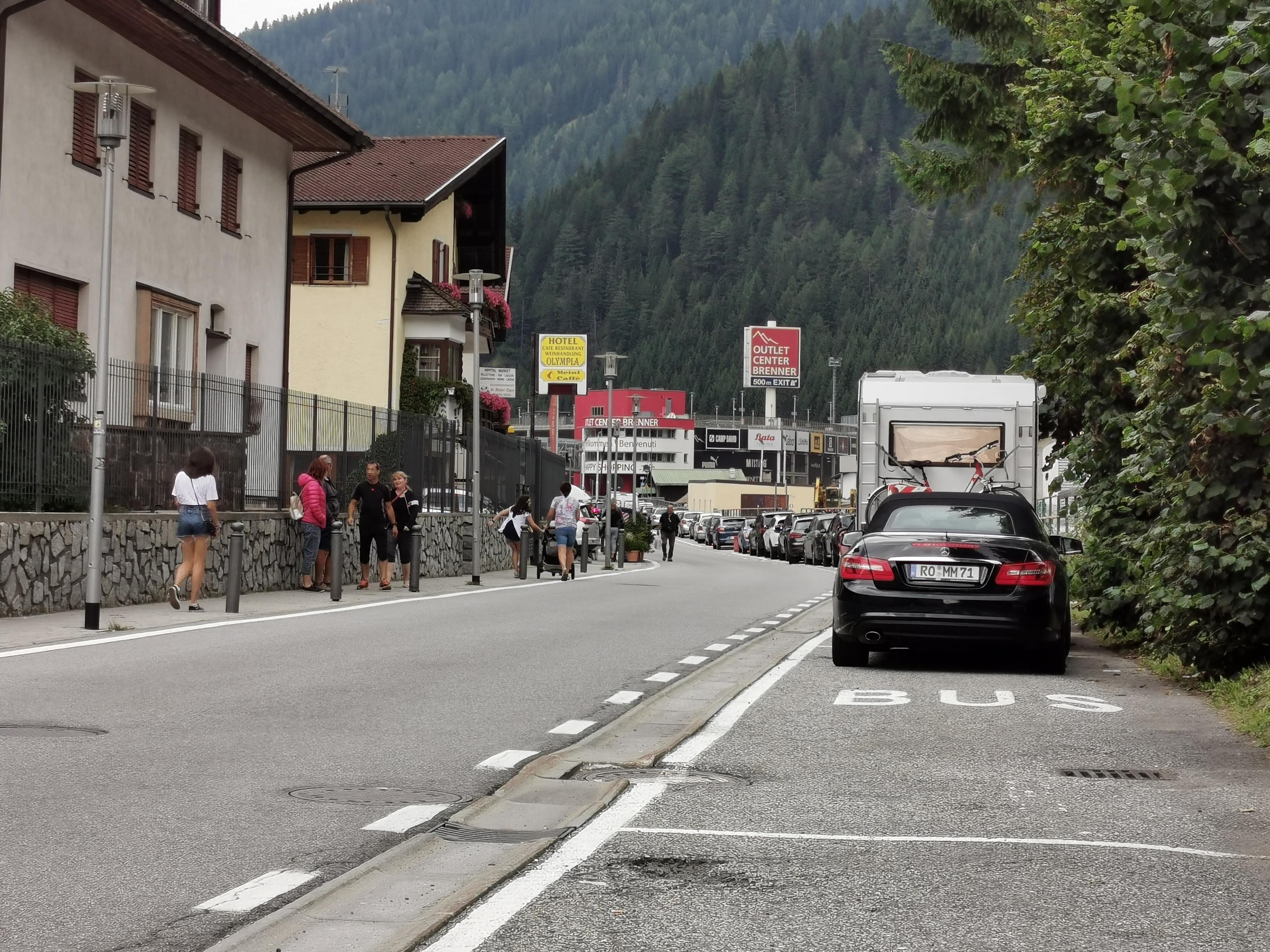 Hölle auf dem Brennerpass