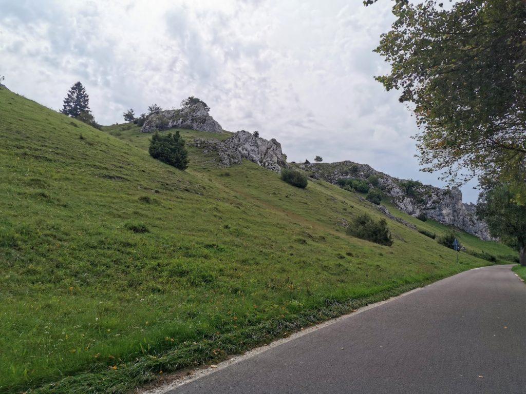 Straße im Ebersburger Tal